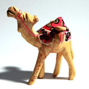 camel en bois
