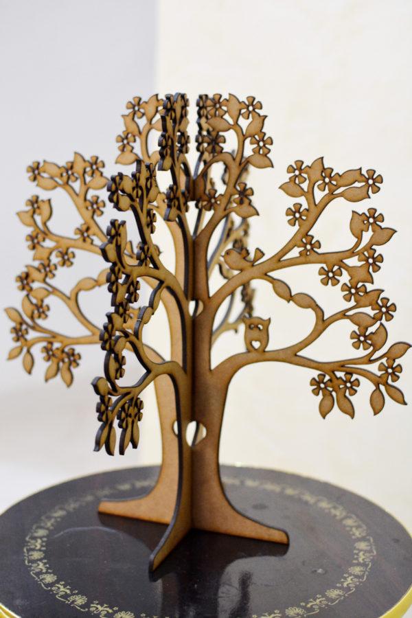 Arbre porte bijoux artisanat